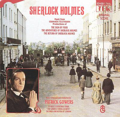 Music of the Granada series Sherlock Holmes released on CD