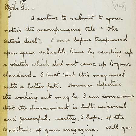 arthur conan doyle writing style
