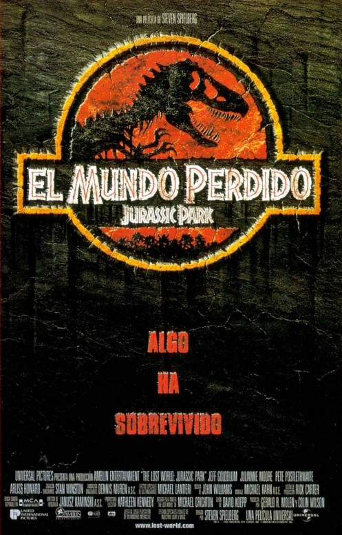 the lost world jurassic park essay Access to over 100,000 complete essays and the primary conflict in both jurassic park and the lost world is survival trapped in amber from the jurassic.