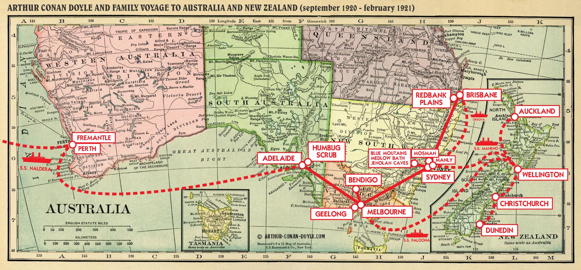 australia map 1920