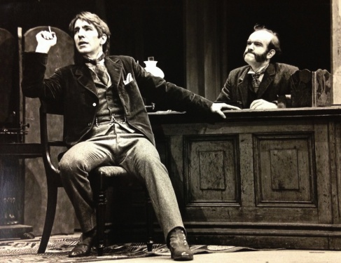 Sherlock Holmes (play 1976 with Alan Rickman) - The Arthur