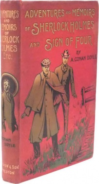 James-askew-1903-1920-adventures-memoirs-of-sherlock-holmes-and-sign-of-four-red.jpg