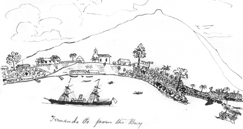 File:Drawing-ss-mayumba-1881-10-27-fernando-po-from-the-bay.jpg