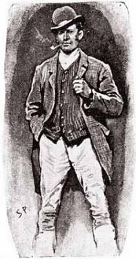 Sherlock Holmes As A Drunken Looking Groom SCAN