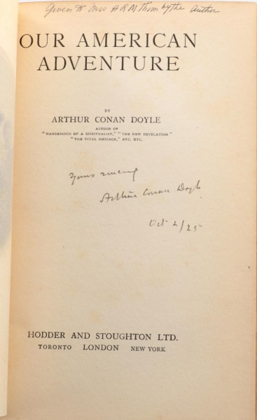 File:Hodder-stoughton-1923-our-american-adventure-titlepage-signed.jpg