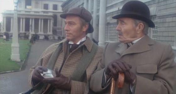 Sherlock Holmes Christopher Plummer Dr Watson James Mason