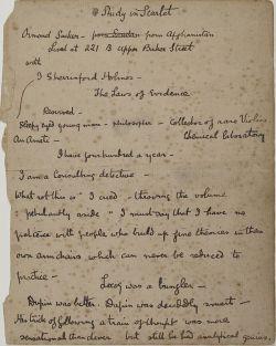 A Study in Scarlet The Arthur Conan Doyle Encyclopedia