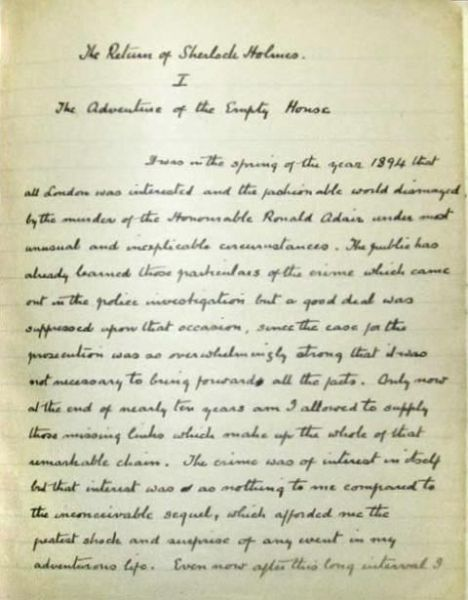 File:Manuscript-the-adventure-of-the-empty-house-p1.jpg