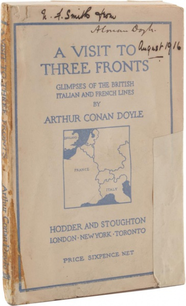 File:Hodder-stoughton-1916-a-visit-to-three-fronts-signed2.jpg