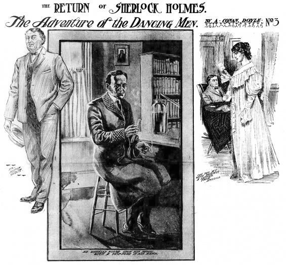 The Adventure of the Dancing Men - The Arthur Conan Doyle Encyclopedia
