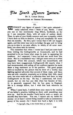 The Stark Munro Letters - The Arthur Conan Doyle Encyclopedia